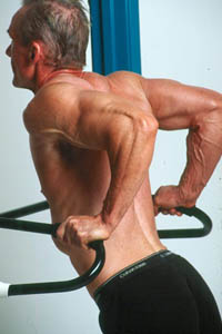 Dips are tough but build chest, arms & shoulders like no other exercise